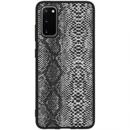 Hardcase Backcover voor de Samsung Galaxy S20 - Slang