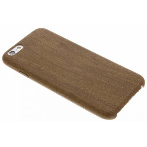 Houten Softcase Backcover voor iPhone 6 / 6s