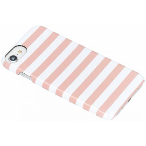 iPhone 8 / 7 / 6 / 6s hoesje roze -  Stripe Passion
