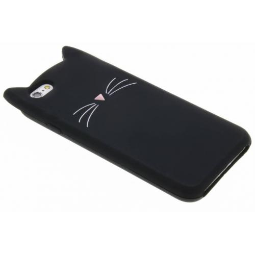 Kat Backcover voor iPhone 6 / 6s - Zwart