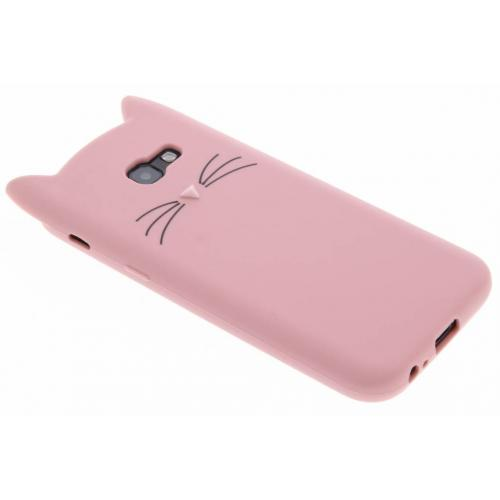 Kat Backcover voor Samsung Galaxy A5 (2017) - Roze