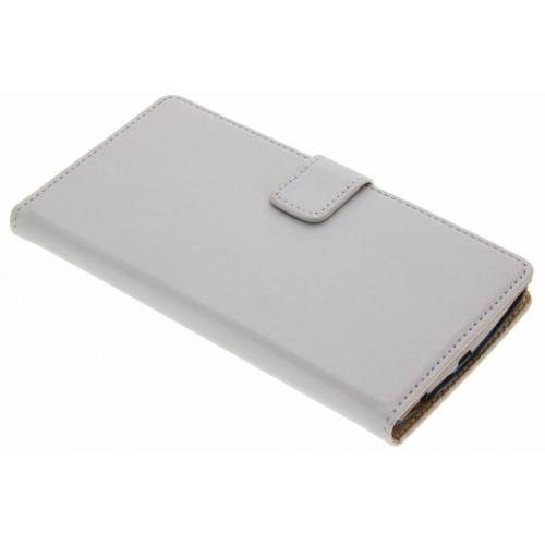 LG G4 hoesje Zilver - Luxe Book Case