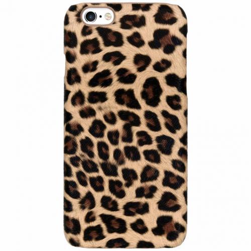 Luipaard Design Backcover voor iPhone 6 / 6s - Bruin
