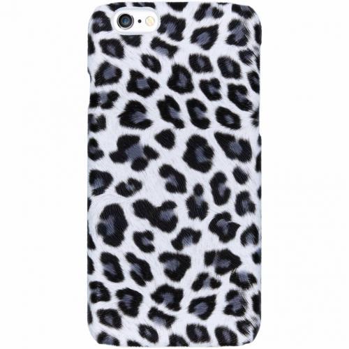 Luipaard Design Backcover voor iPhone 6 / 6s - Wit