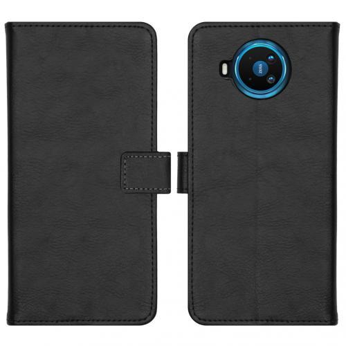 Luxe Booktype voor de Nokia 8.3 5G - Zwart