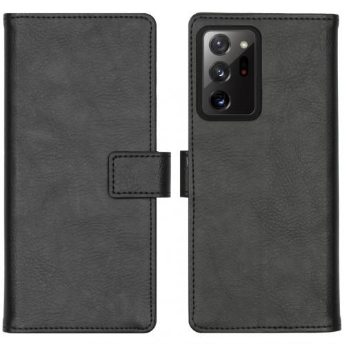 Luxe Booktype voor de Samsung Galaxy Note 20 Ultra - Zwart