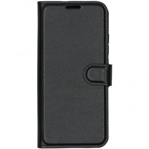 Luxe Booktype voor de Xiaomi Mi Note 10 - Zwart