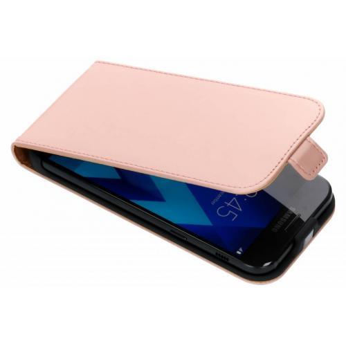 Luxe Hardcase Flipcase voor Samsung Galaxy A5 (2017) - Rosé goud