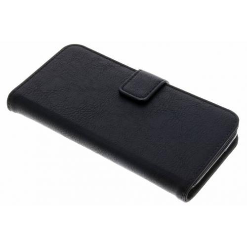 Luxe Lederen Booktype voor Samsung Galaxy S5 (Plus) / Neo - Zwart