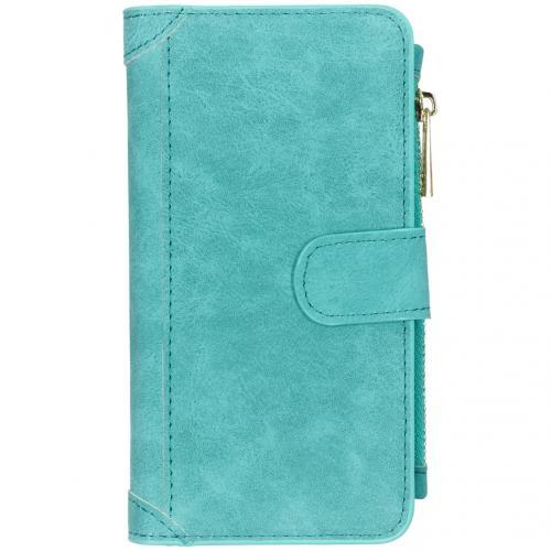 Luxe Portemonnee voor de iPhone 11 - Turquoise