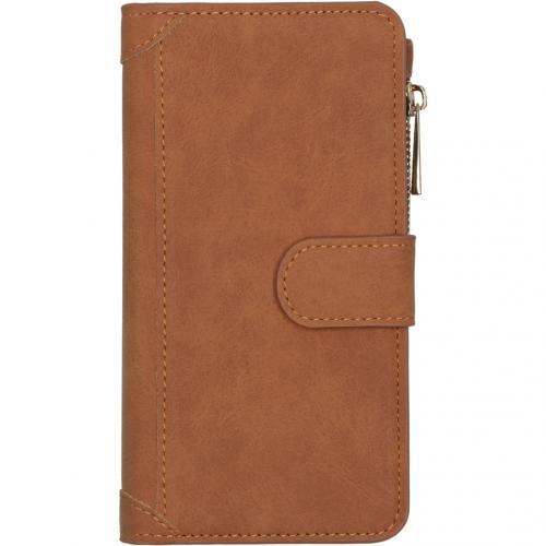 Luxe Portemonnee voor de iPhone 12 6.1 inch - Bruin