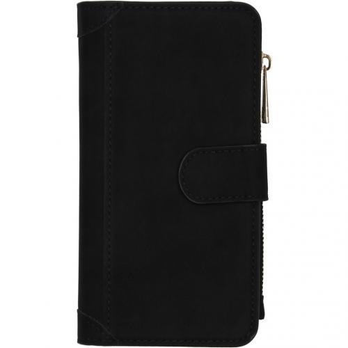 Luxe Portemonnee voor de iPhone 12 6.1 inch - Zwart
