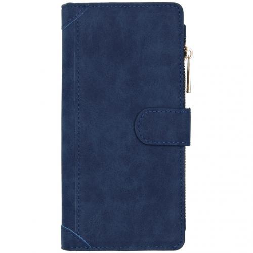 Luxe Portemonnee voor de Samsung Galaxy A21s - Blauw
