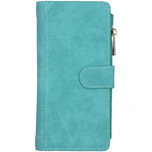 Luxe Portemonnee voor de Samsung Galaxy A21s - Turquoise