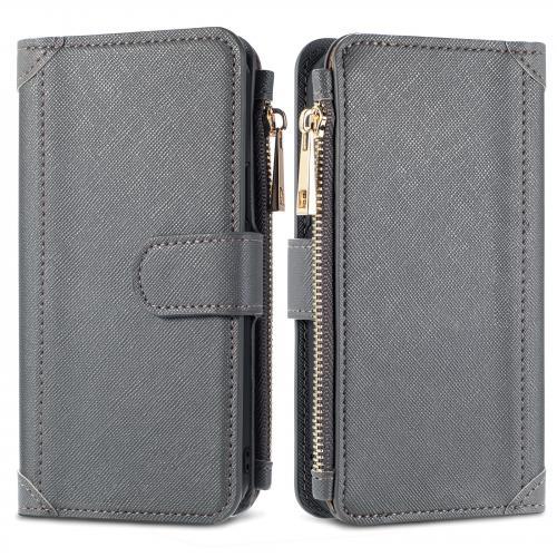 Luxe Portemonnee voor de Samsung Galaxy A52 (5G) / A52 (4G) - Grijs