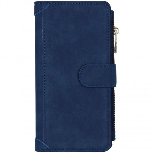 Luxe Portemonnee voor de Samsung Galaxy A71 - Donkerblauw