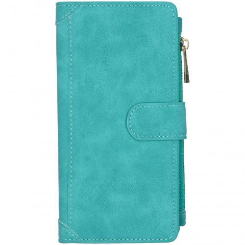 Luxe Portemonnee voor de Samsung Galaxy A71 - Turquoise