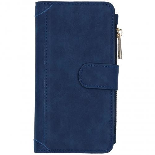 Luxe Portemonnee voor de Samsung Galaxy S20 - Donkerblauw