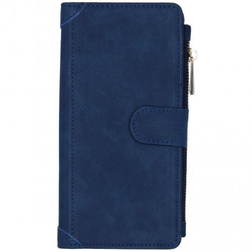 Luxe Portemonnee voor de Samsung Galaxy S20 Plus - Donkerblauw