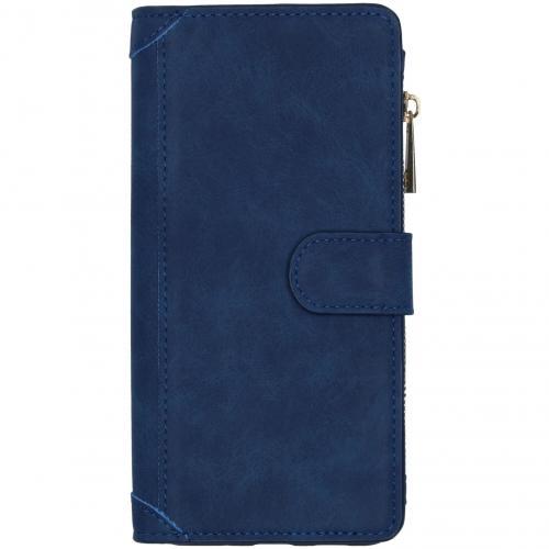 Luxe Portemonnee voor de Samsung Galaxy S20 Ultra - Donkerblauw