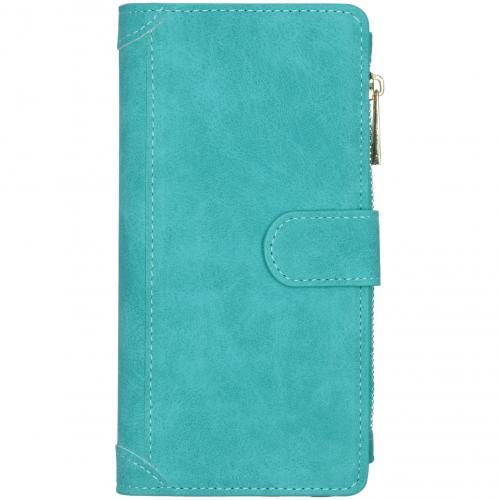Luxe Portemonnee voor de Samsung Galaxy S20 Ultra - Turquoise