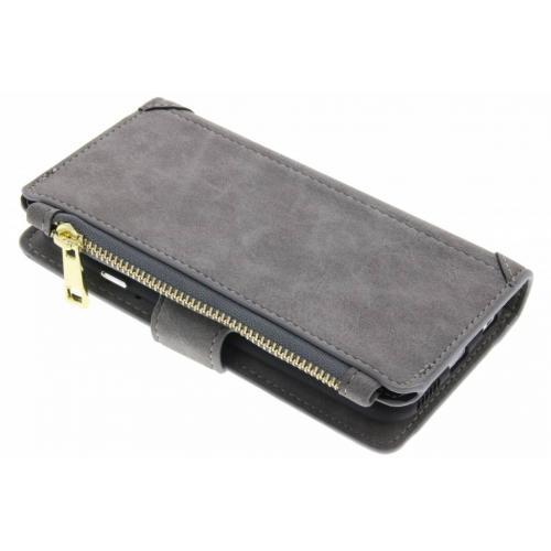 Luxe Portemonnee voor iPhone 6 / 6s - Grijs