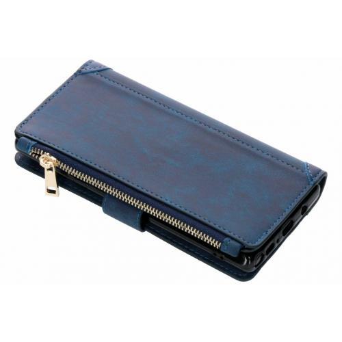 Luxe Portemonnee voor Samsung Galaxy Note 9 - Donkerblauw