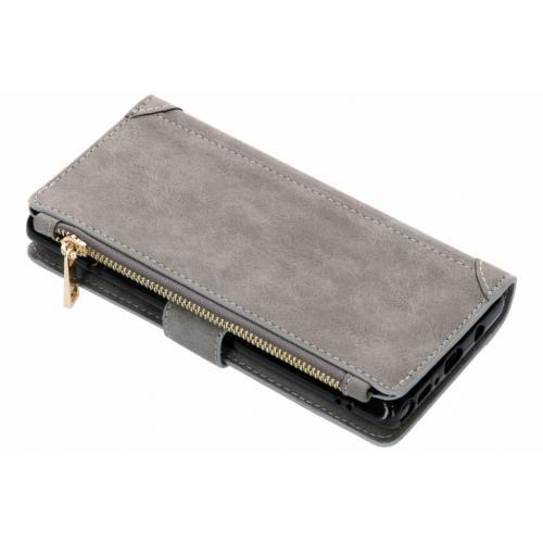 Luxe Portemonnee voor Samsung Galaxy Note 9 - Grijs