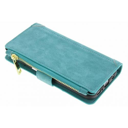 Luxe Portemonnee voor Samsung Galaxy S7 - Turquoise