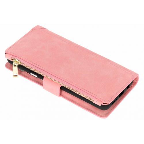 Luxe Portemonnee voor Samsung Galaxy S9 Plus - Roze