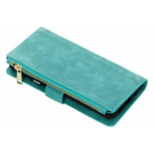 Luxe Portemonnee voor Samsung Galaxy S9 Plus - Turquoise