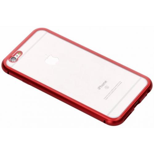 Magnetisch Backcover voor iPhone 6 / 6s - Rood