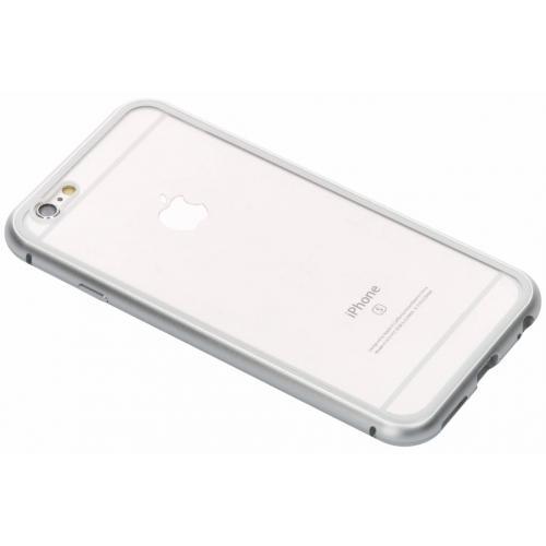 Magnetisch Backcover voor iPhone 6 / 6s - Zilver