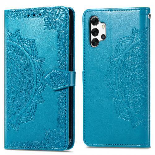 Mandala Booktype voor de Samsung Galaxy A32 (5G) - Turquoise