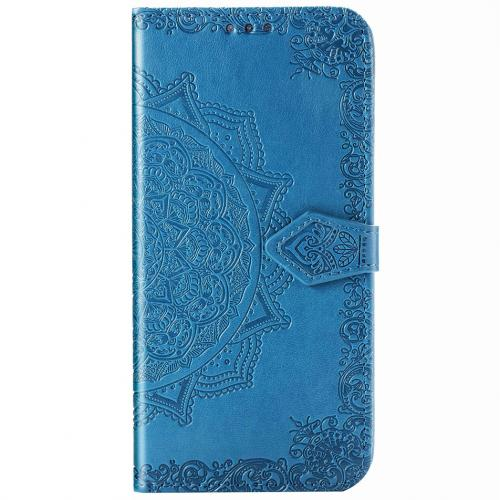 Mandala Booktype voor de Samsung Galaxy Note 20 Ultra - Turquoise