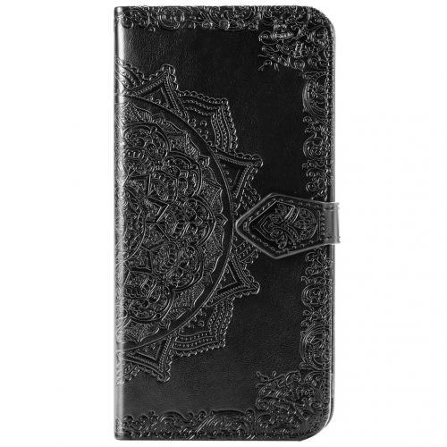 Mandala Booktype voor de Samsung Galaxy Note 20 - Zwart