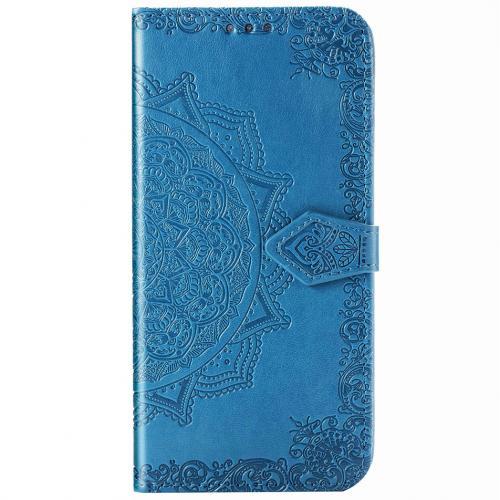 Mandala Booktype voor de Xiaomi Poco F2 Pro - Turquoise