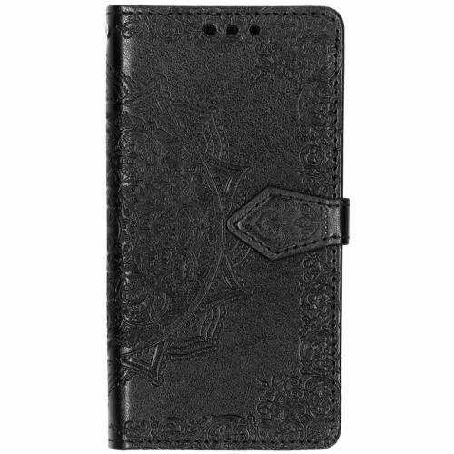 Mandala Booktype voor Samsung Galaxy S7 - Zwart