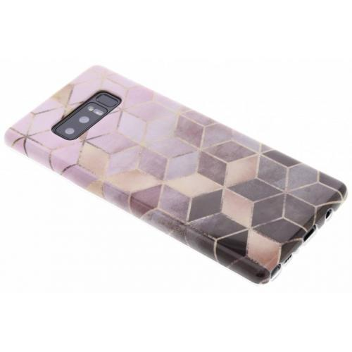 Marmer Softcase Backcover voor Samsung Galaxy Note 8
