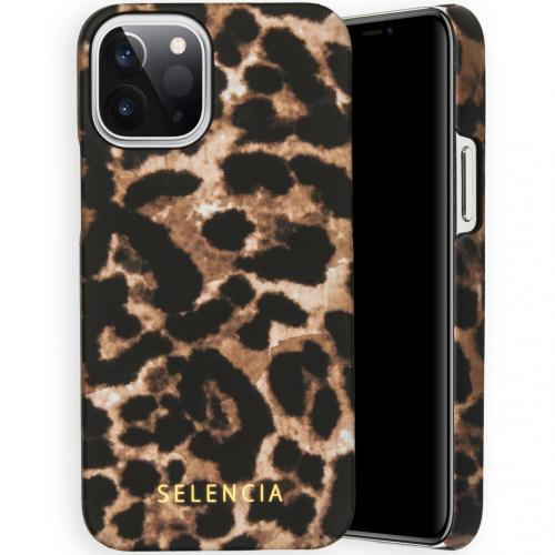 Maya Fashion Backcover voor de iPhone 12 5.4 inch - Brown Panther