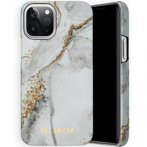 Maya Fashion Backcover voor de iPhone 12 5.4 inch - Marble Stone