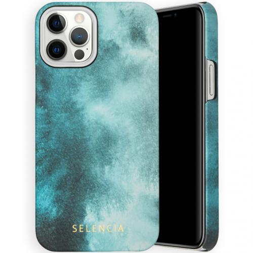 Maya Fashion Backcover voor de iPhone 12 (Pro) - Air Blue