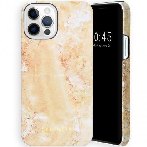Maya Fashion Backcover voor de iPhone 12 (Pro) - Marble Sand