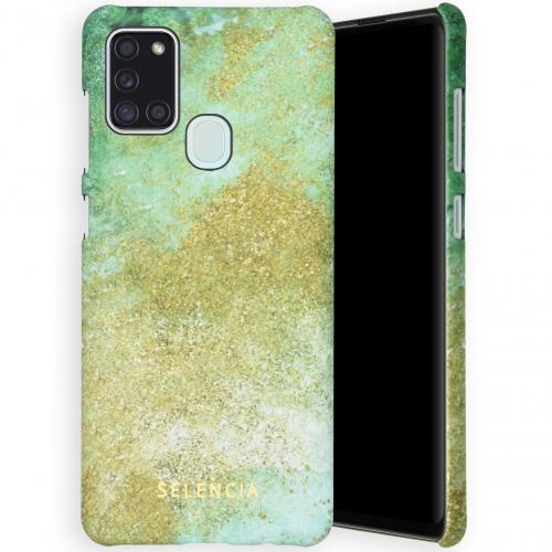 Maya Fashion Backcover voor de Samsung Galaxy A21s - Green Nature