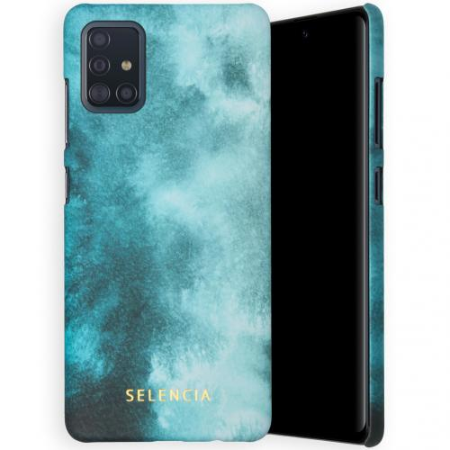 Maya Fashion Backcover voor de Samsung Galaxy A51 - Air Blue