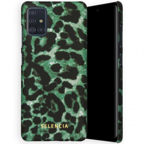 Maya Fashion Backcover voor de Samsung Galaxy A51 - Green Panther