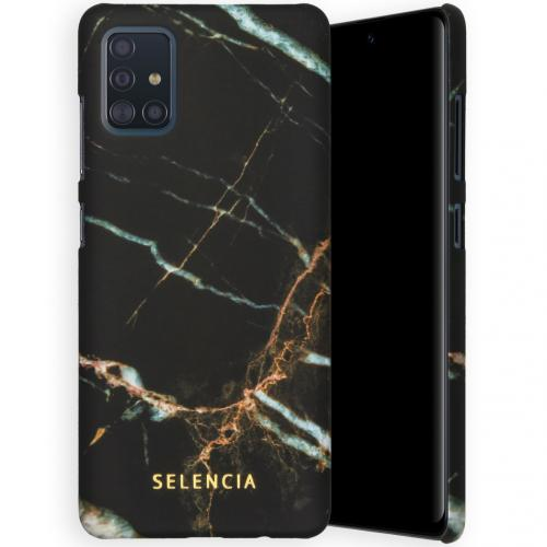 Maya Fashion Backcover voor de Samsung Galaxy A51 - Marble Black
