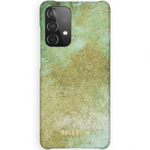 Maya Fashion Backcover voor de Samsung Galaxy A52 (5G) / A52 (4G) - Green Nature