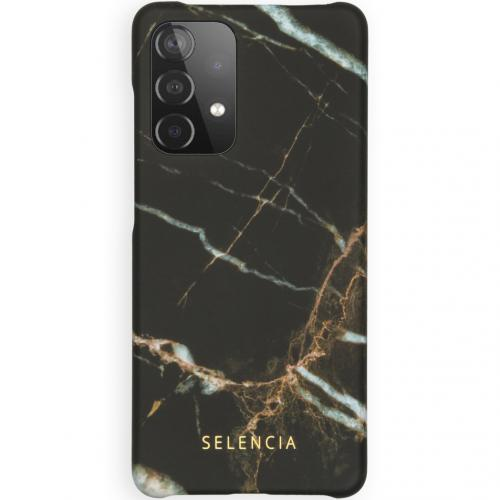 Maya Fashion Backcover voor de Samsung Galaxy A52 (5G) / A52 (4G) - Marble Black
