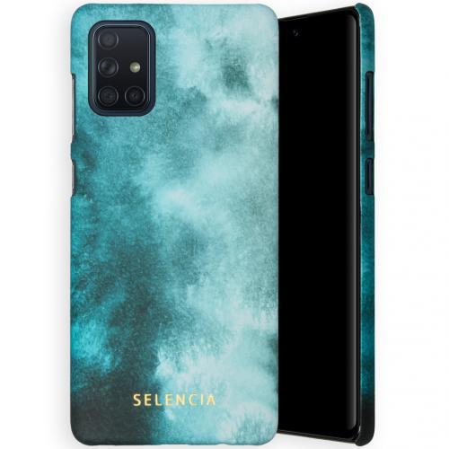 Maya Fashion Backcover voor de Samsung Galaxy A71 - Air Blue